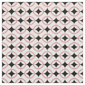 Baseballs Design Fabric
