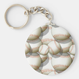 baseballs keychain