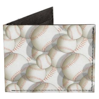 Baseballs Multiplied Billfold Wallet