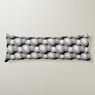 Baseballs Pattern Body Pillow