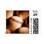 baseballs postage stamps