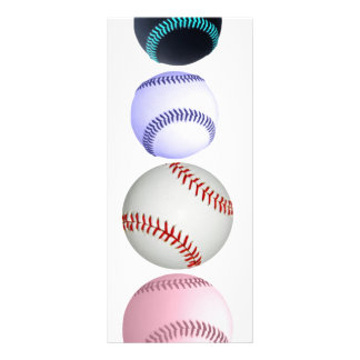 Baseballs Rack Card