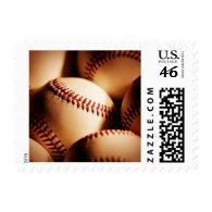 baseballs stamp