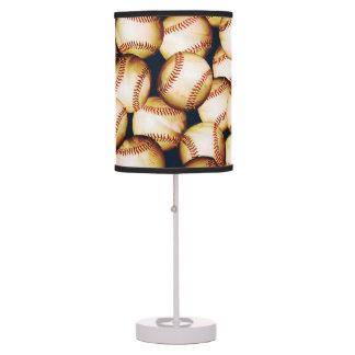 BASEBALLS TABLE LAMP