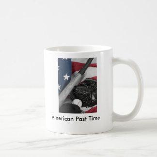 basebasll bwredblue, American Past Time Mugs
