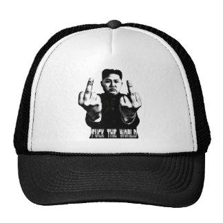 Basecap cap Kim Jong Un - Fu ck the world FTW Trucker Hat