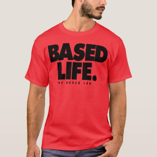 BASED LAB Based Life - Black Colorway T-Shirt
