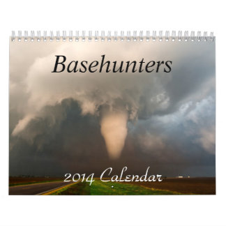 Basehunters Chasing 2014 Calendar
