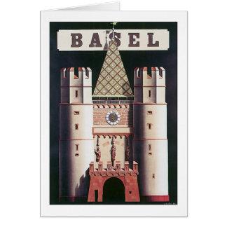 Basel Greeting Card