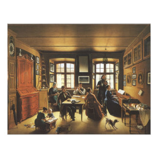 Basel Family Concert by Gutzwiller Victorian Art Invitations