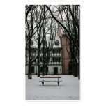 Basel in winter, Switzerland Business Card Template