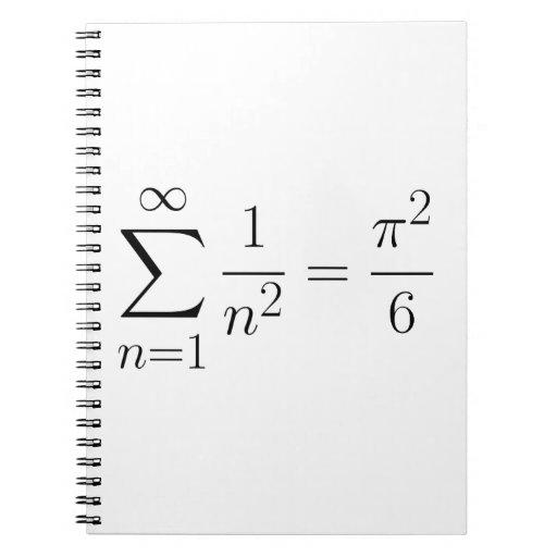 Basel problem spiral note book