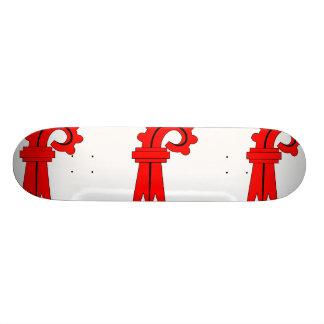 Basel Switzerland flag Skate Boards