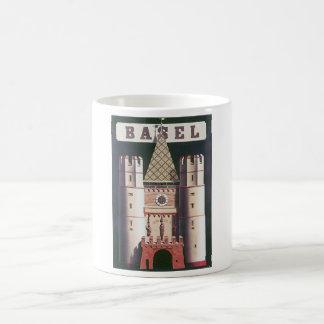 Basel Vintage Travel Poster Coffee Mug