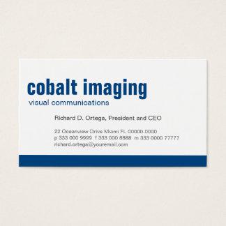 Baseline Panel Cobalt Business Card