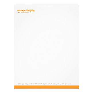 Baseline Panel Orange Letterhead