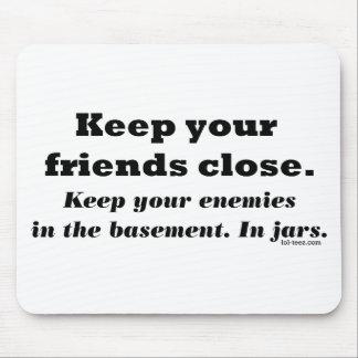 Basement Friends Mouse Pad