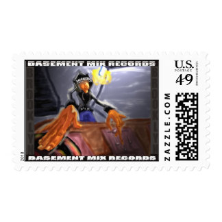 BASEMENT MIX Postage Stamp