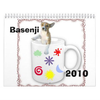 Basenji 2010 calendar