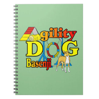 Basenji Agility Dog Notebook
