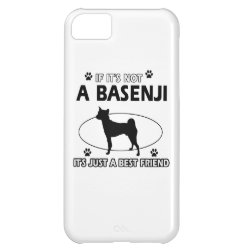 Case-Mate Barely There iPhone 5C Case with Basenji Phone Cases design
