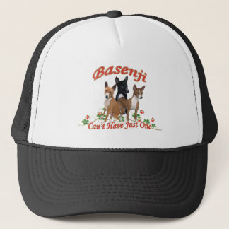 Basenji Can't Have Just One Apparel Trucker Hat