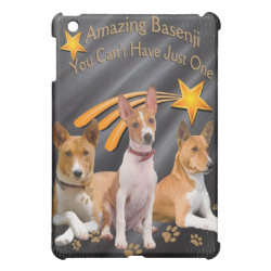 Basenji Can't Have Just One IPAD CASE