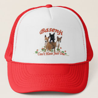 Basenji Can't Have Just One Trucker Hat