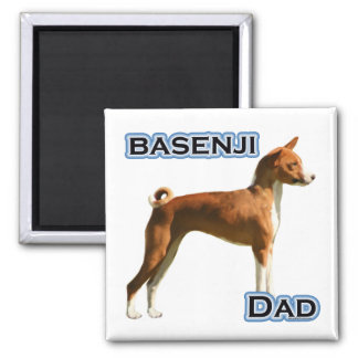 Basenji Dad 4 - Magnet