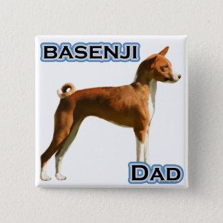 Basenji Dad 4 Pinback Button