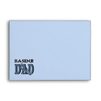 Basenji DAD Envelopes