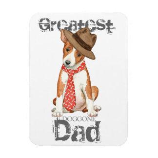 Basenji Dad Magnet