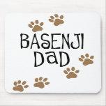 Basenji Dad Mouse Pads