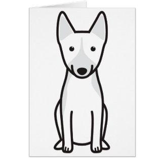 Basenji Dog Cartoon Greeting Card