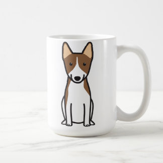 Basenji Dog Cartoon Coffee Mug