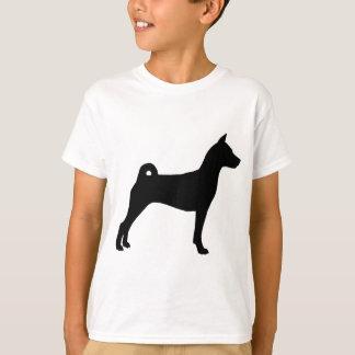 Basenji Dog (in black) T-Shirt