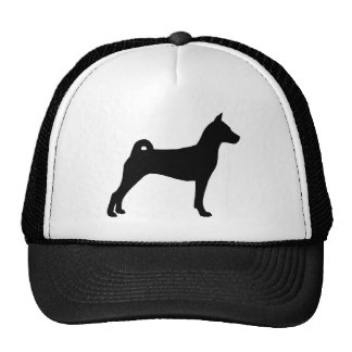 Basenji Dog (in black) Trucker Hat