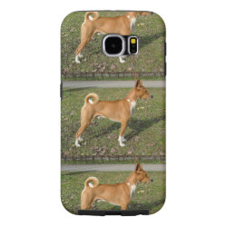 Case-Mate Barely There Samsung Galaxy S6 Case with Basenji Phone Cases design