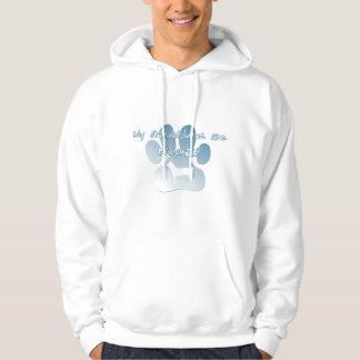 Basenji Granddog Hooded Sweatshirt