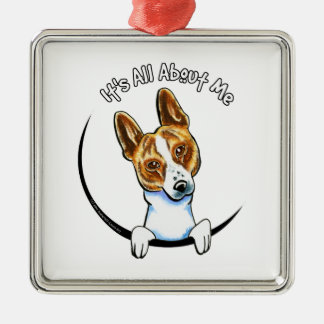 Basenji IAAM Metal Ornament