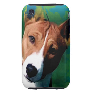 Basenji iPhone 3 Tough Funda