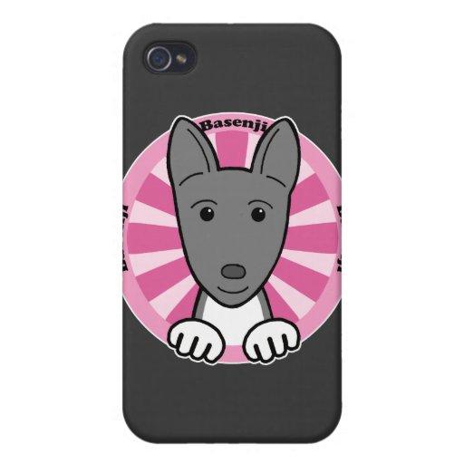 Basenji iPhone 4 Protectores