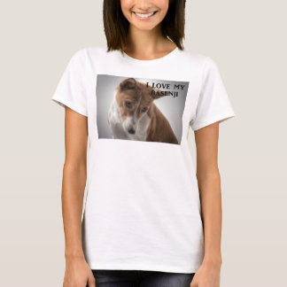 basenji love w pic T-Shirt