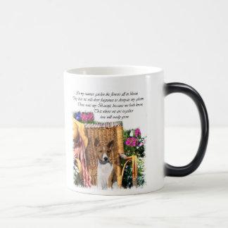 Basenji Lovers Art Gifts 11 Oz Magic Heat Color-Changing Coffee Mug