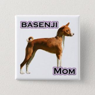 Basenji Mom 4 - Button