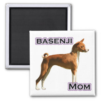 Basenji Mom 4 - Magnet