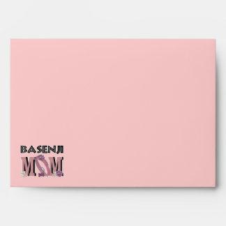 Basenji MOM Envelopes