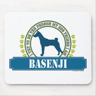 Basenji Mouse Pad