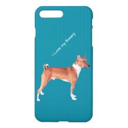 iPhone 7 Plus Case with Basenji Phone Cases design