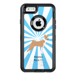 OtterBox Symmetry iPhone 6/6s Case with Basenji Phone Cases design